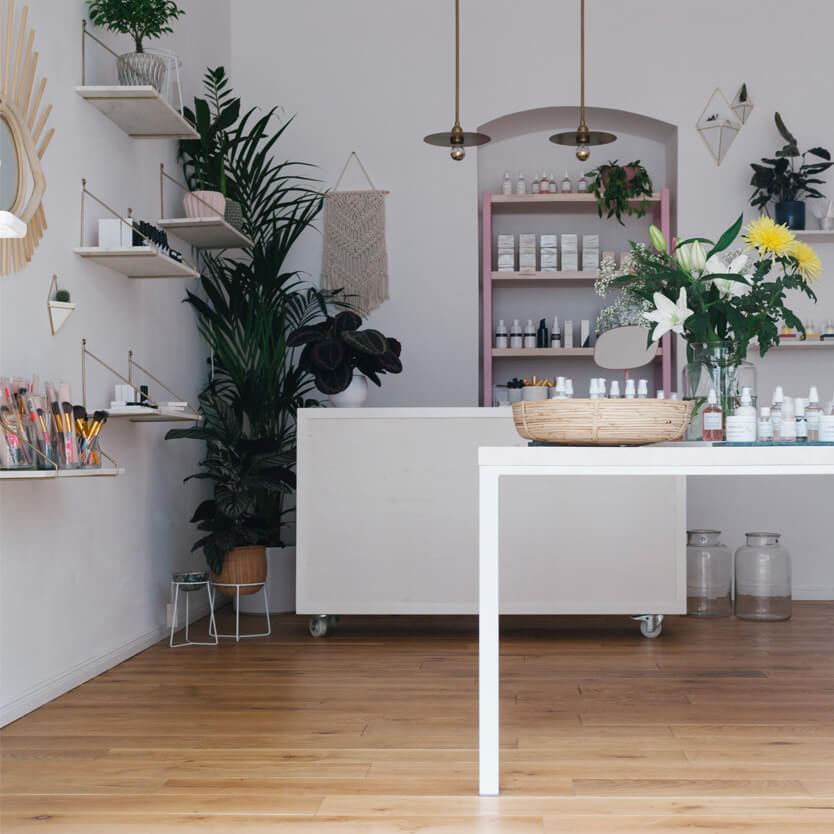 Furniture Design Collaboration for the Lovely Day Beauty Store in Berlin